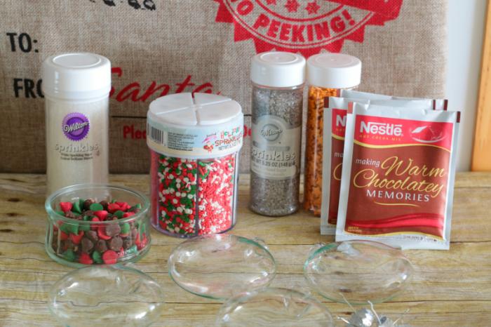 Hot Cocoa Mix Ornaments - supplies www.cupcakesandcrinoline.com
