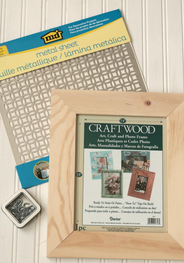 DIY Jewelry Wall Organizer - supplies www.cupcakesandcrinoline.com