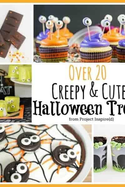 20 Plus Cute and Creepy Halloween Treats