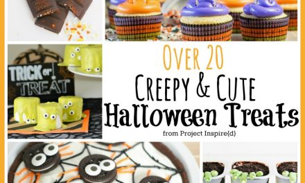 20 Plus Cute and Creepy Halloween Treats
