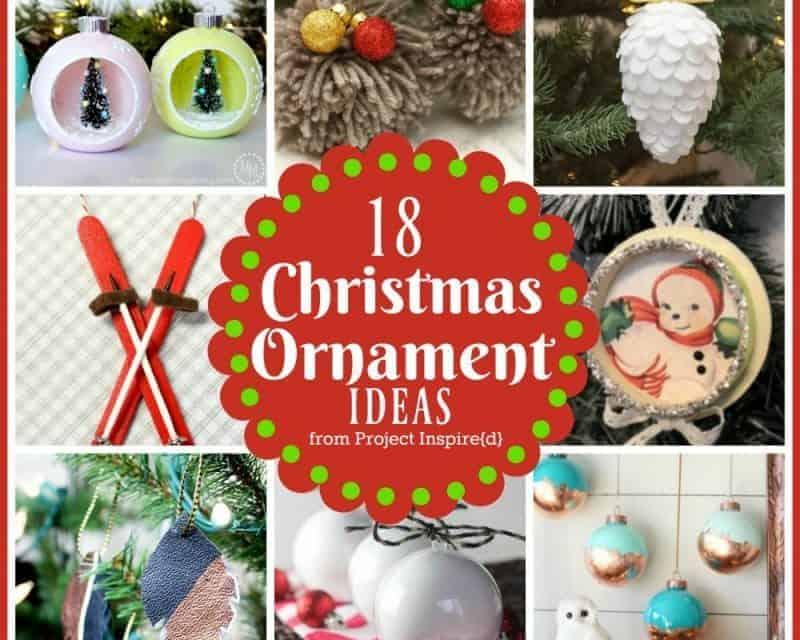 18 DIY Christmas Ornament Ideas