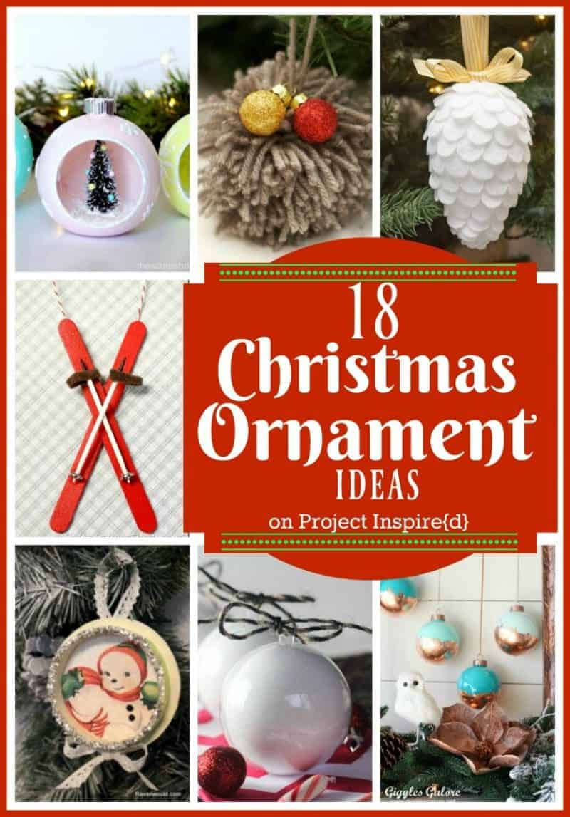 18 Adorable DIY Christmas Ornament Ideas