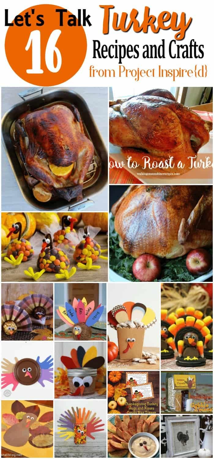 16 Thanksgiving Recipes and Crafts from Project Inspired