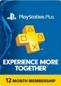 PS4 Plus 12 Month Membership