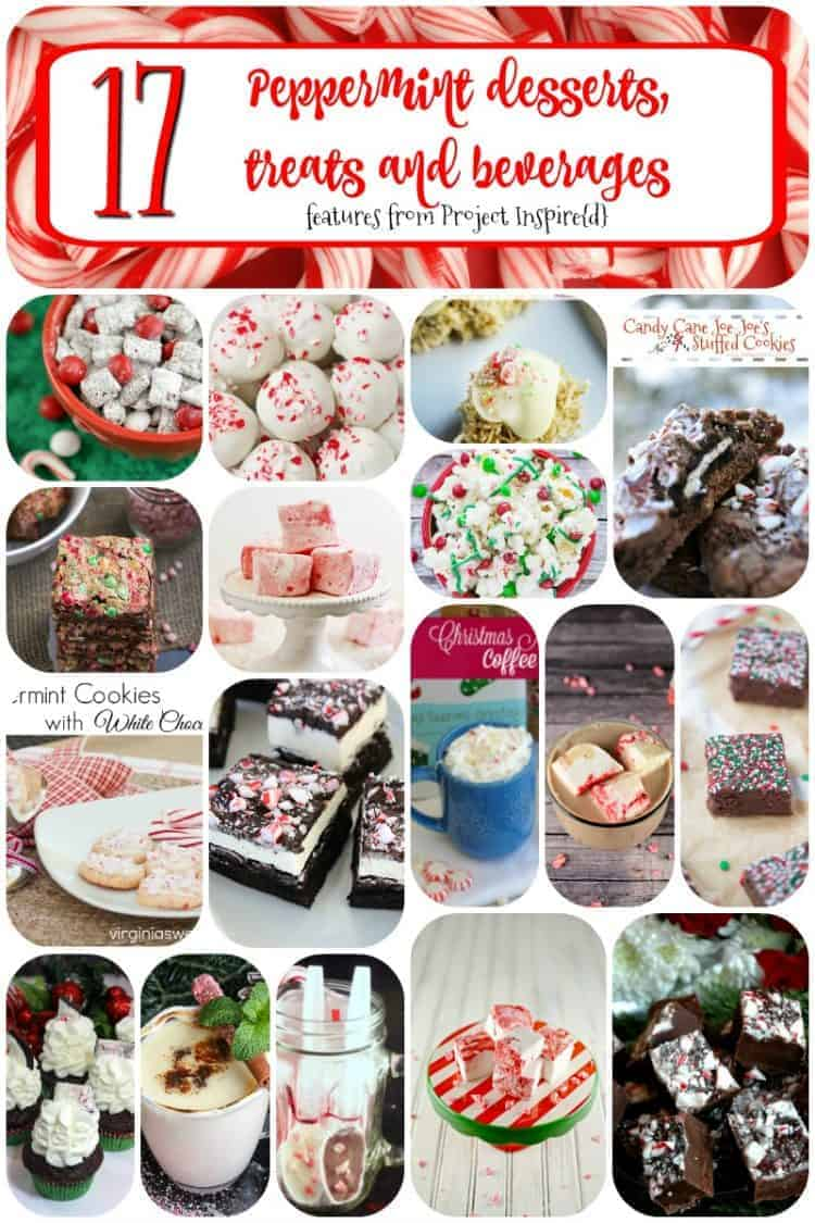 17 Peppermint Desserts, Treats and Beverages