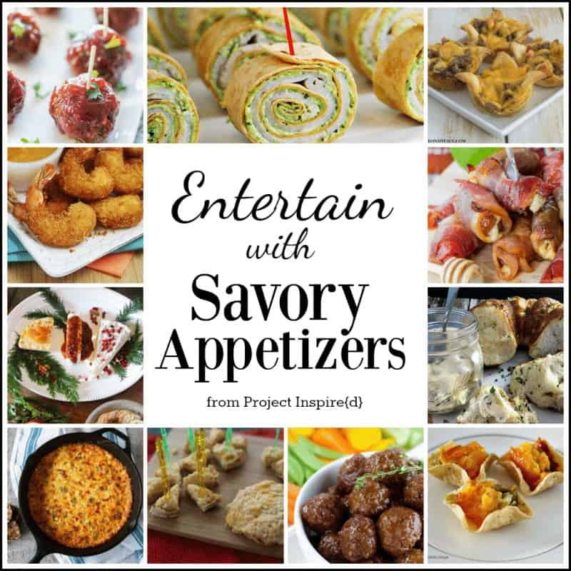 11 Savory Appetizers from Project Inspired