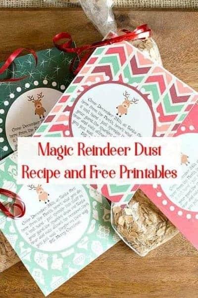 Magic Reindeer Food – Poem with Free Printables