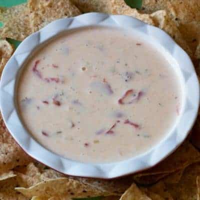 Slow Cooker Queso Blanco aka Darn Good Cheesy Dip
