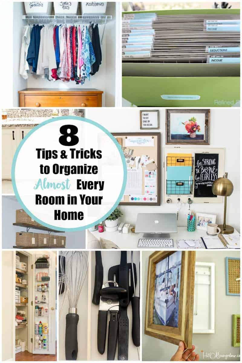 How-To Organize Almost Everything in Your Home