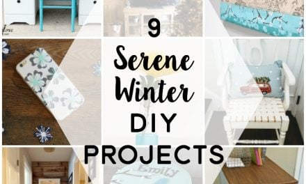 9 Beautiful Winter DIY Projects to Inspire You