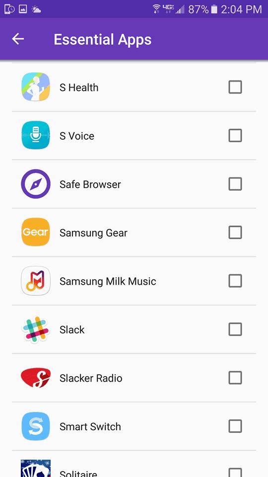 Essential Apps Teen Limit