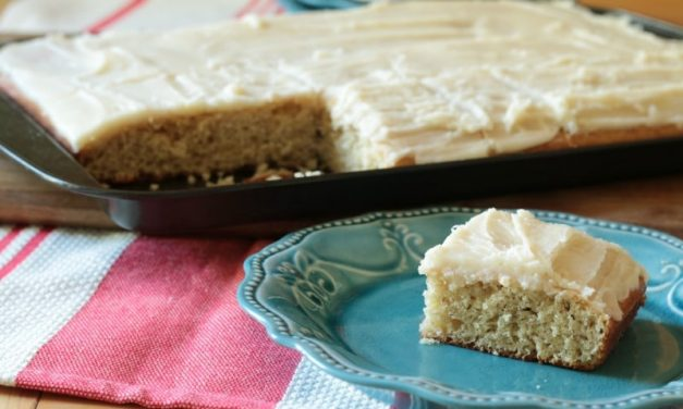 Best Banana Cake for a Crowd