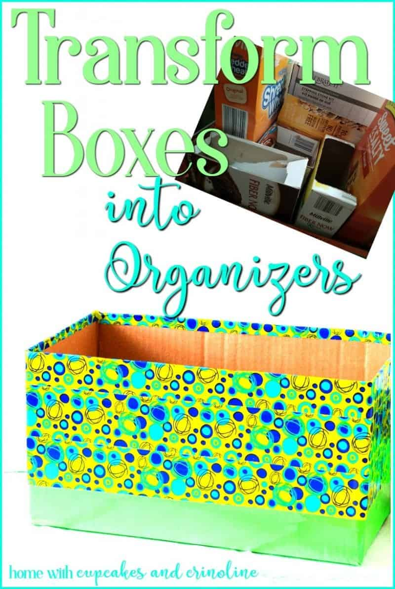 Pantry Organization - DIY Storage Containers from Cardboard Boxes