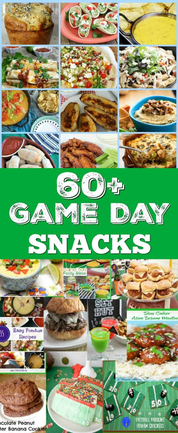 Over 60 delicious game day snack recipes and ideas