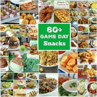 60 Plus Super Game Day Snacks