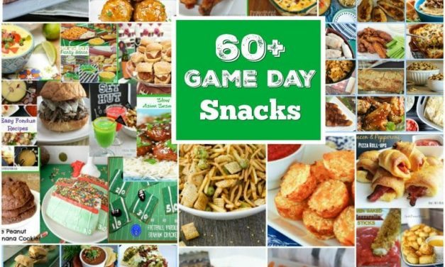 60 Plus Super Game Day Snacks