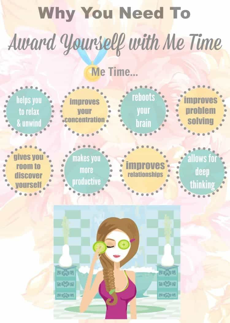 8 Reasons why it is so important to award yourself with me time.