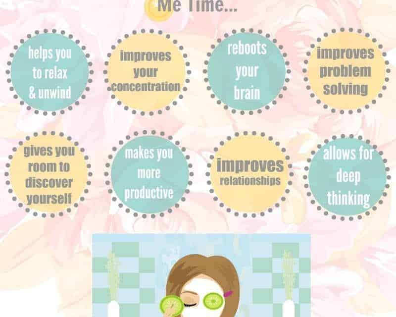 8 Reasons Why It's So Important to Award Yourself With Me Time