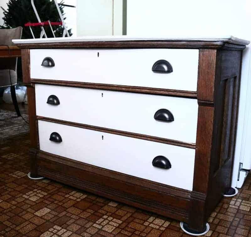 Antique Dresser Makeover