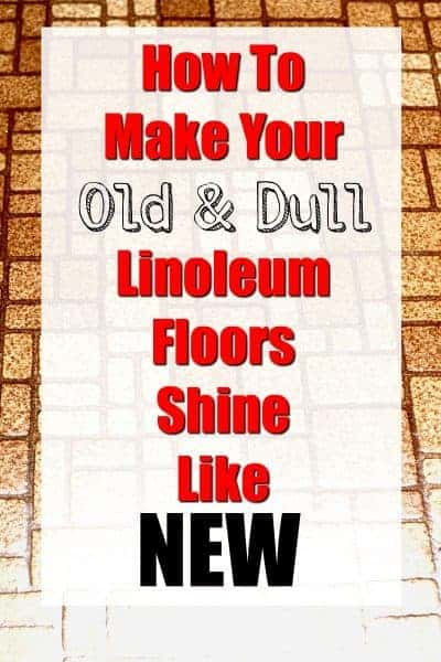 How To Make Your Linoleum Floors Sparkle Like New