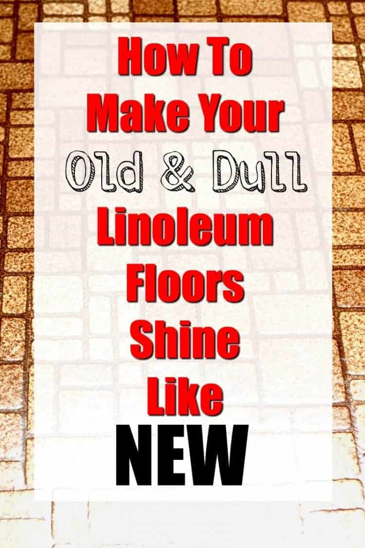 How to Make Your Old and Dull Linoleum Floors Shine Like New