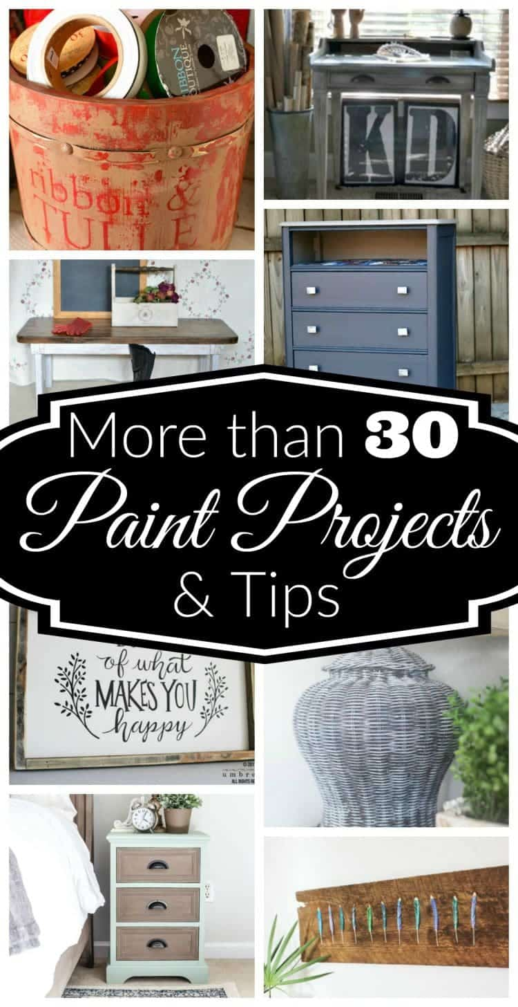 More than 30 paint projects and tips for your home