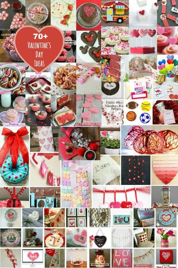 Over 70 Valentine's Day Ideas at cupcakes and crinoline