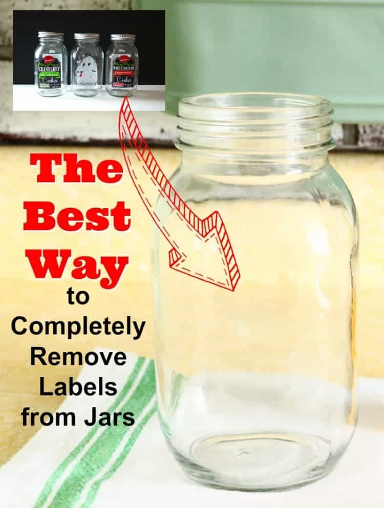 The best way to completely remove labels from jars. I tried three different methods. Find out which one worked best and completely remove the leftover label glue.
