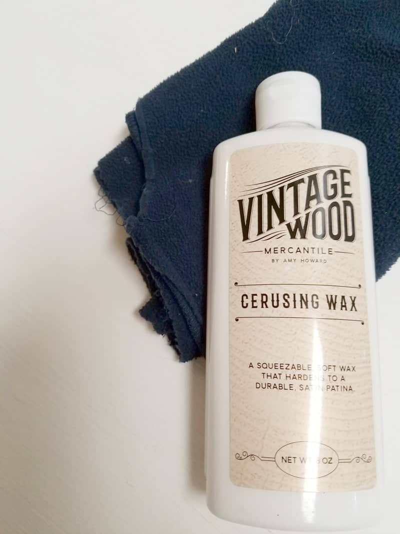 Vintage Wood Mercantile Cerusing Wax