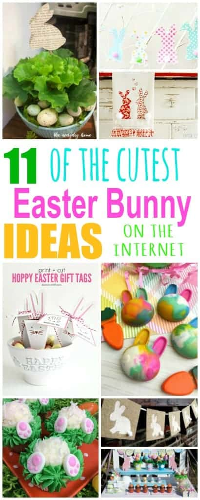 11 of the cutest Easter Bunny Ideas on the Internet