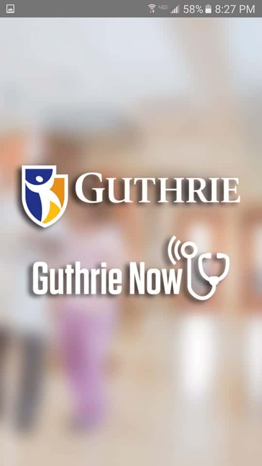 Guthrie Now App - plus a code for one free visit