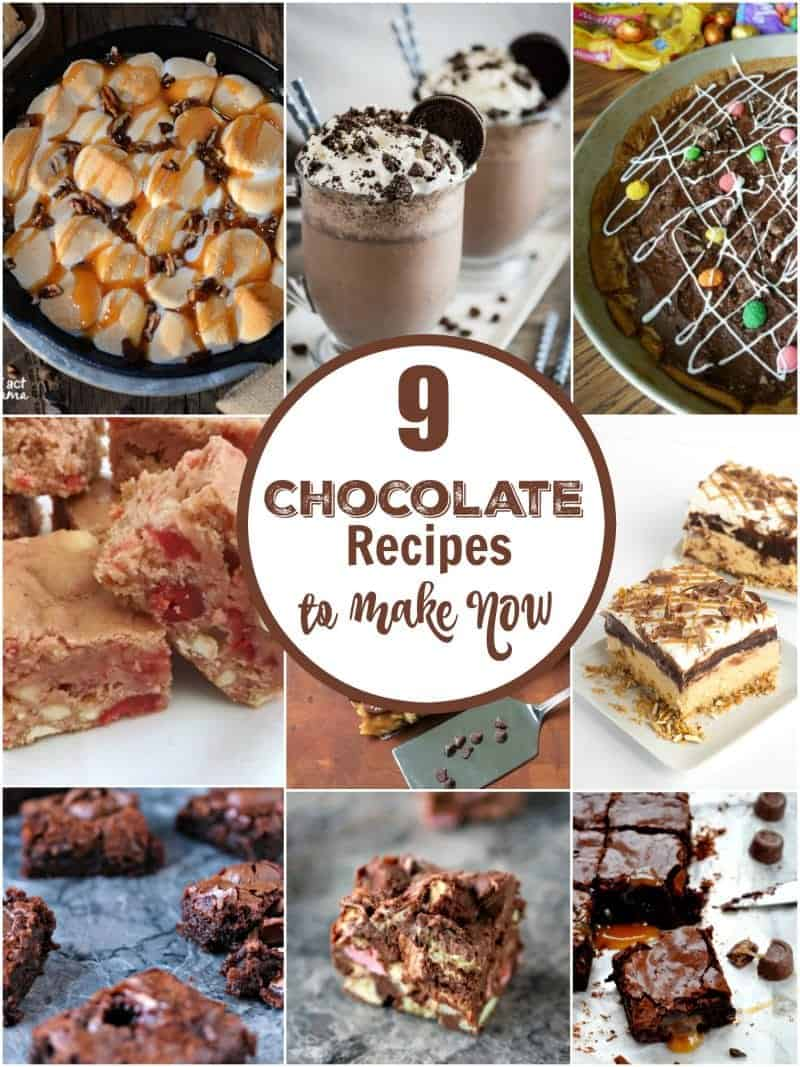 9 decadently delicious and mouthwatering chocolate recipes to make now!