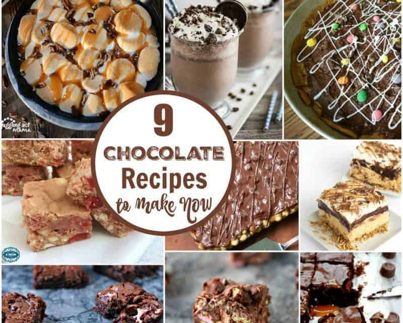9 Mouthwatering Chocolate Recipes to Make Now