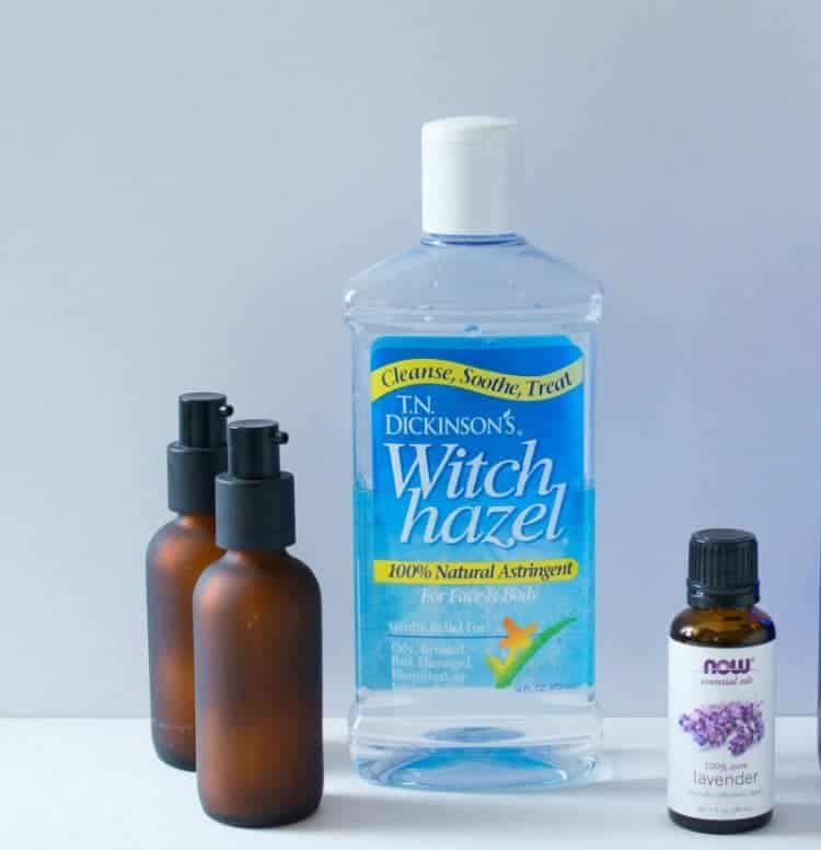 Lavender pillow and linen spray - wonderful for a better night's sleep.