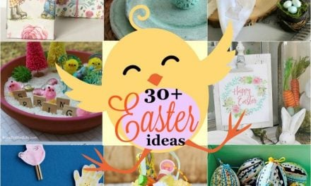 More than 30 Easter Craft and Decor Ideas and Printables