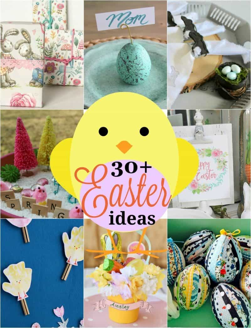 Over 30 Easter Craft and Decor Ideas