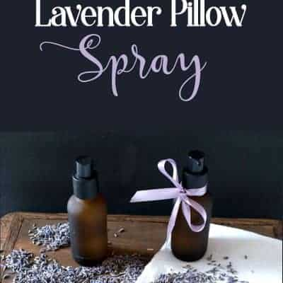 How To Make a Simple Spray That Will Help You Sleep Better