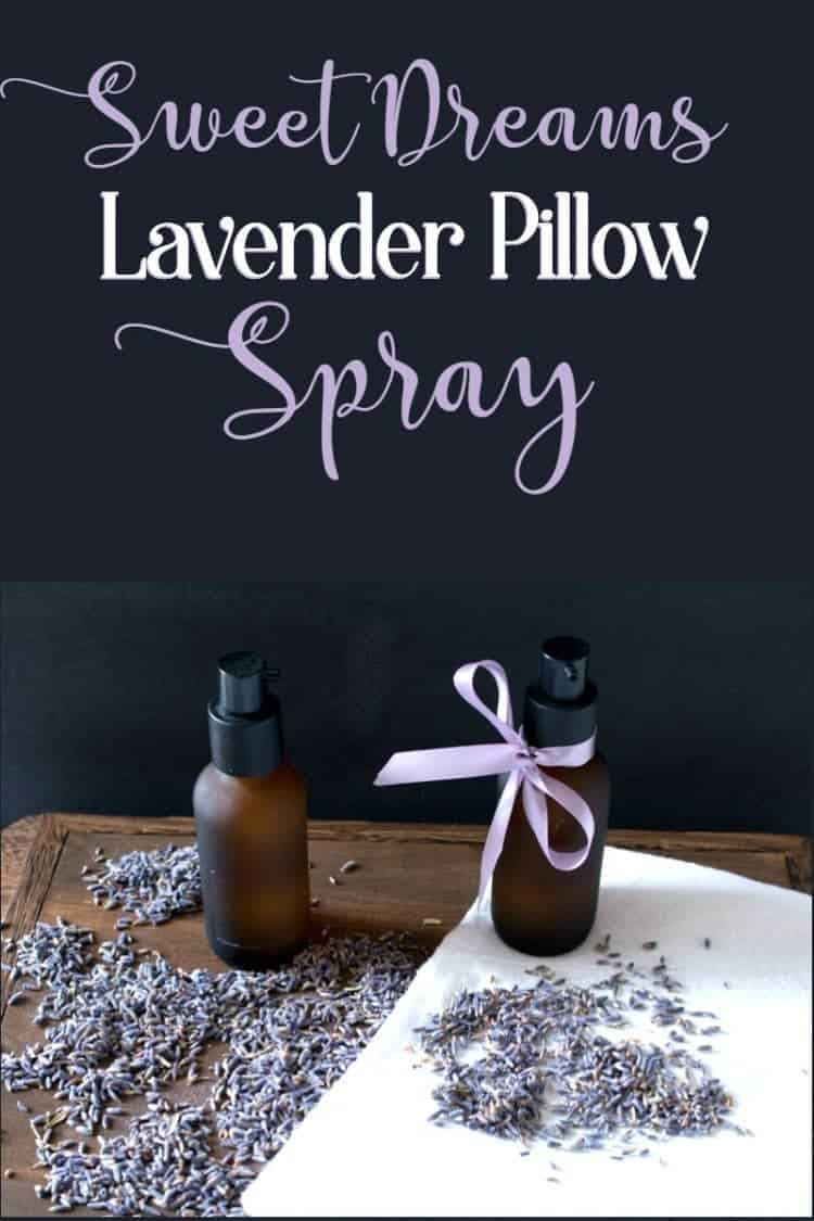 Sweet Dreams Lavender Pillow Spray