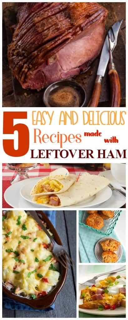 5 Easy and Delicious Leftover Ham Recipes