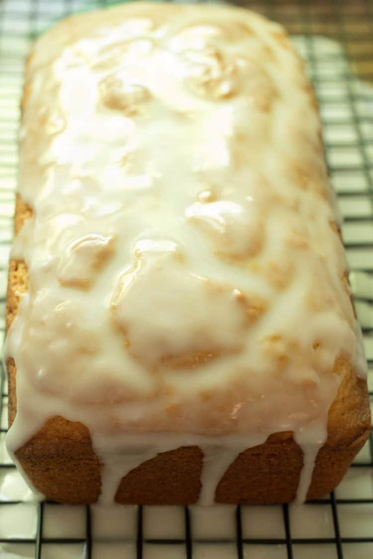 How To Make an Iced Lemon Pound Cake That's Better Than Starbucks