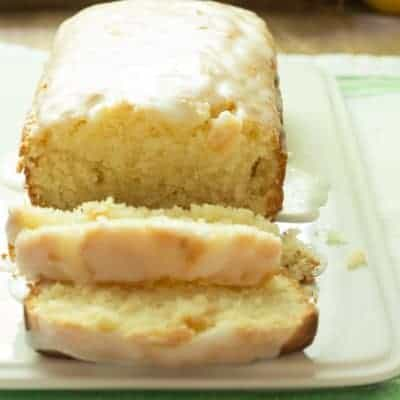 How To Make an Iced Lemon Pound Cake That's Better Than Starbucks