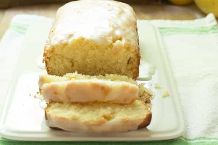 Iced Lemon Pound Cake that's Better than Starbucks