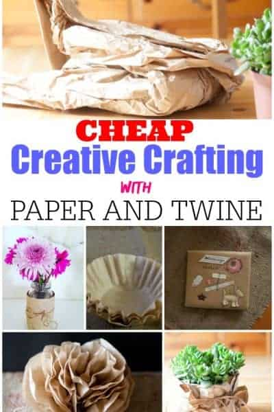 Cheap Creative Crafting with Paper and Twine