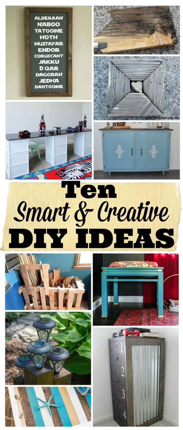 10 Smart and Creative DIY Ideas