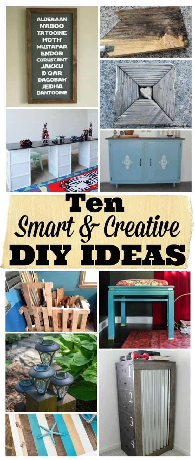 10 Smart and Creative DIY Ideas