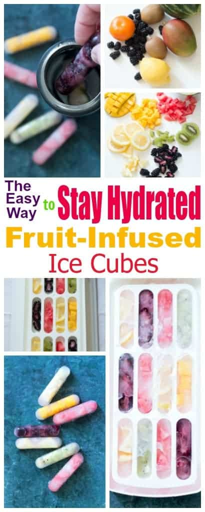 The Easy Way to Stay Hydrated with Fruit-Infused Ice Cubes