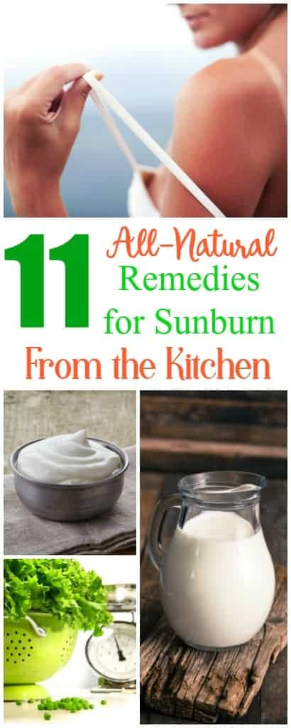 11 All-Natural Remedies for Sunburn Relief from the Kitchen