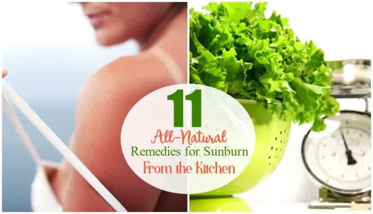 11 All-Natural Remedies for Sunburn from the Kitchen