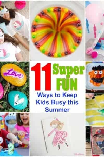 11 Easy and Fun Ways to Keep Kids Busy this Summer