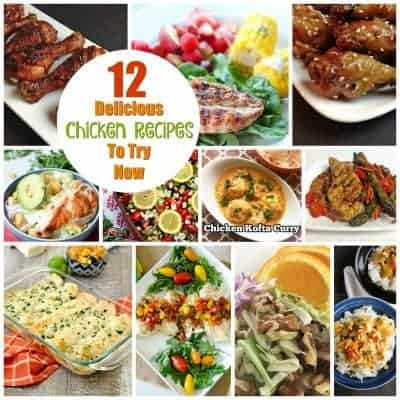 12 Easy and Delicious Chicken Recipes to Try Now